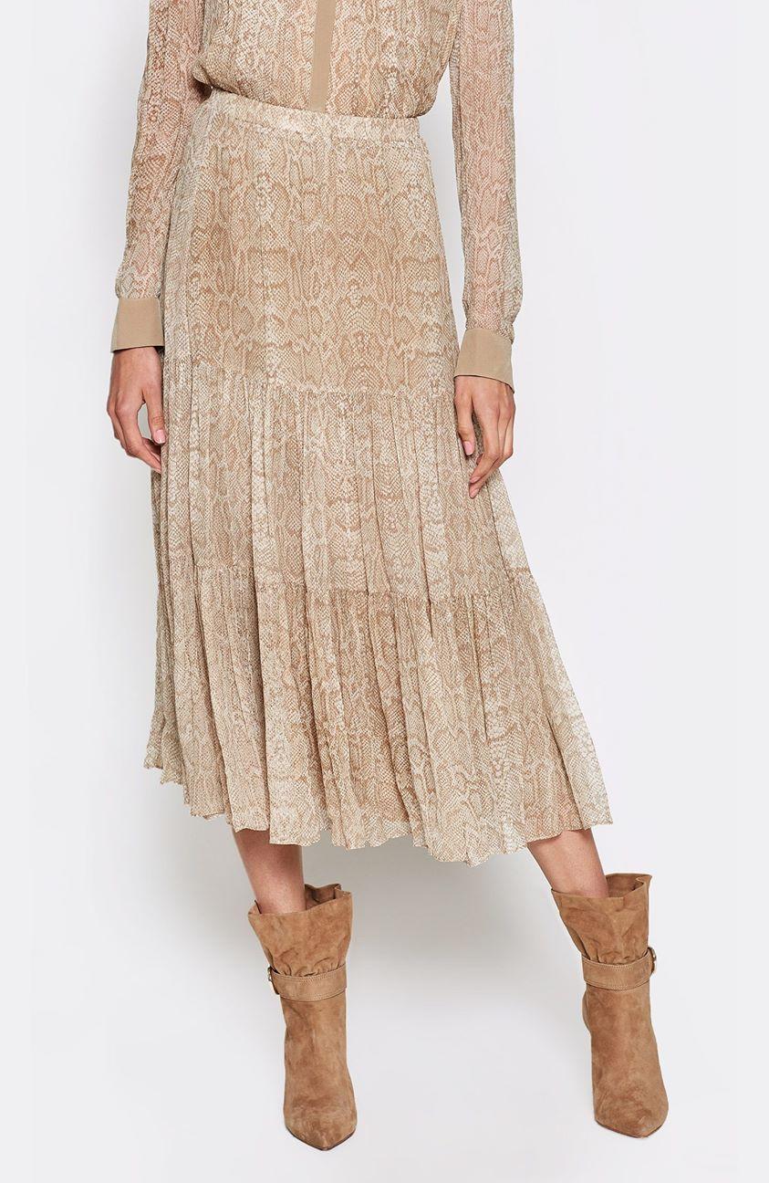Pealle Silk Skirt