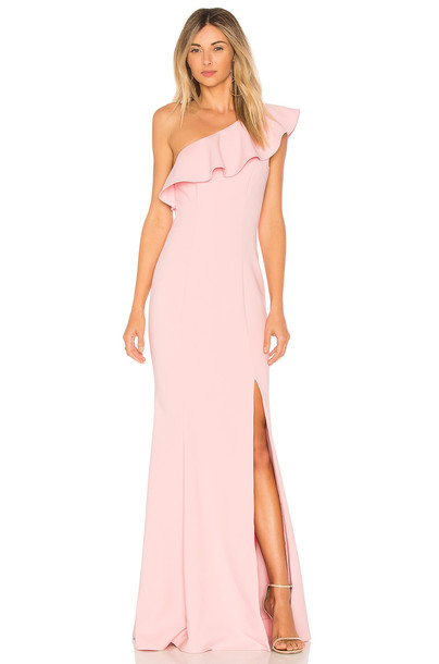 Likely gown pink dress