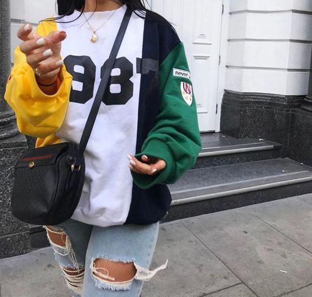 sweater hoodie sweatshirt 1987