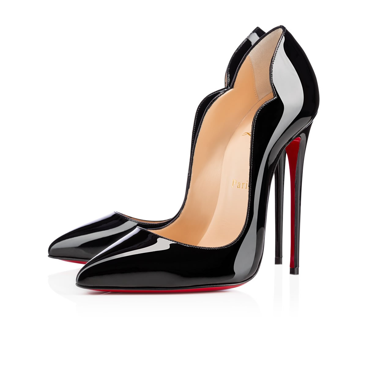 9801ef1966f1 Hot Chick 130 Black Patent Leather - Women Shoes - Christian Louboutin