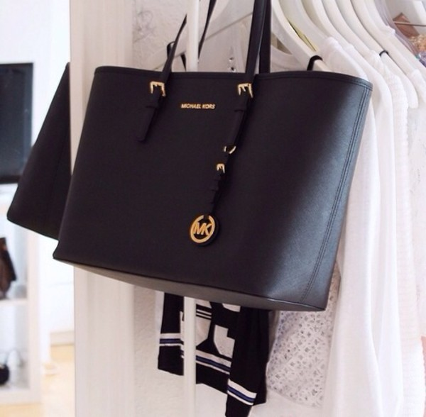 bag michael kors bag swag michel kors style fashion navy swag studd black bag