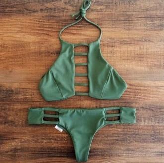 swimwear green swimwear helpmefindthis help inlovewithit style