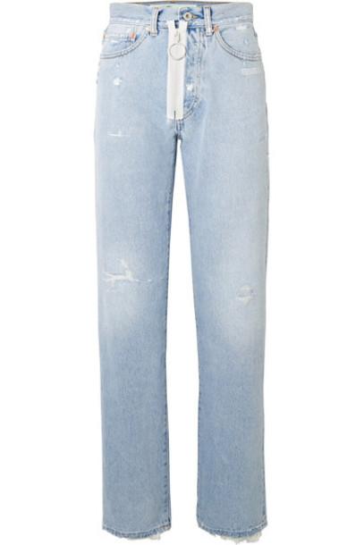 Off-White jeans denim high light