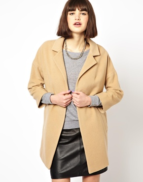 Helene Berman | Helene Berman Classic Car Coat in Camel Cashwool at ASOS