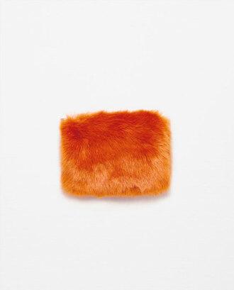 bag faux fur