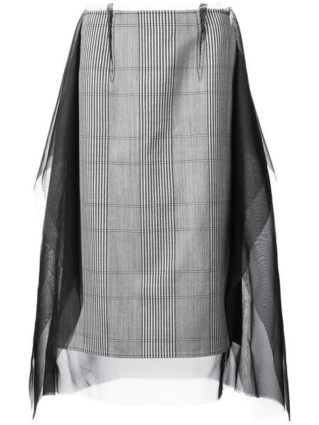 skirt long skirt long women silk wool