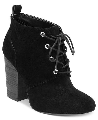 BCBGeneration Luca Lace Up Booties - Shoes - Macy's