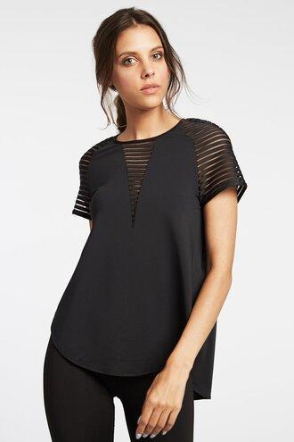 shirt black shirt black top activewear