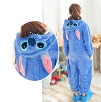 underwear onesie jumpsuit stitch pajamas