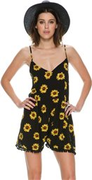 REVERSE SUNFLOWER ROMPER > Womens > Clothing > Rompers & Jumpsuits | Swell.com