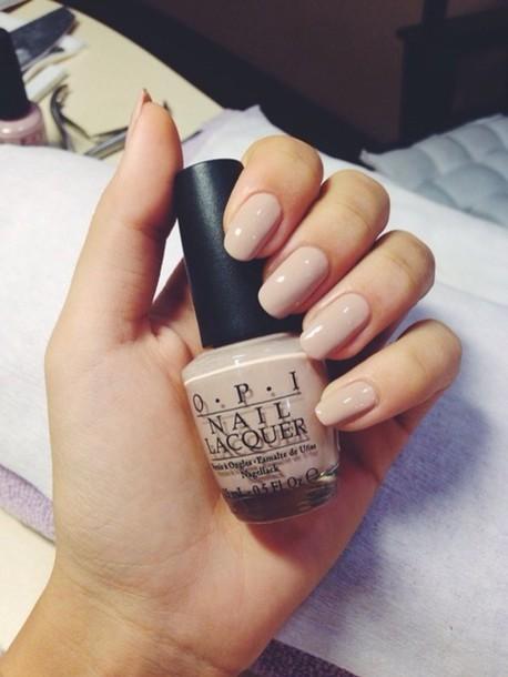 nail polish, nude nail polish, opi, nude - Wheretoget