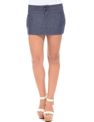 skirt mini skirt polka dots