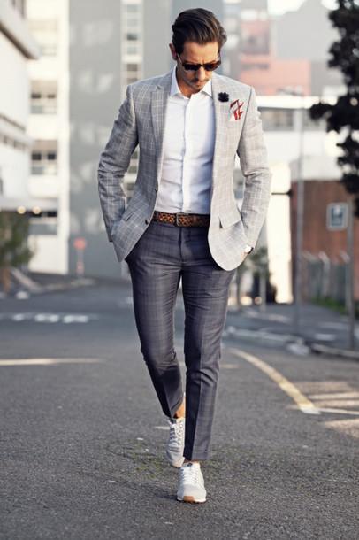 what my boyfriend wore blogger shoes dress pants shirt jacket
