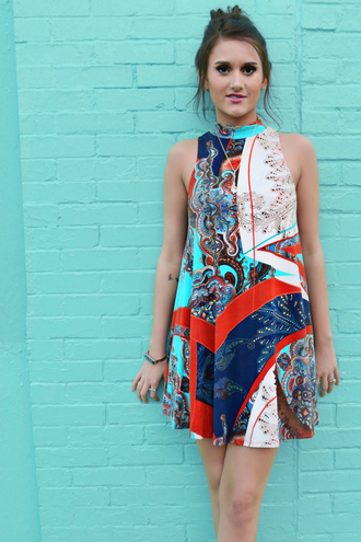 dress amazing lace colorful teal