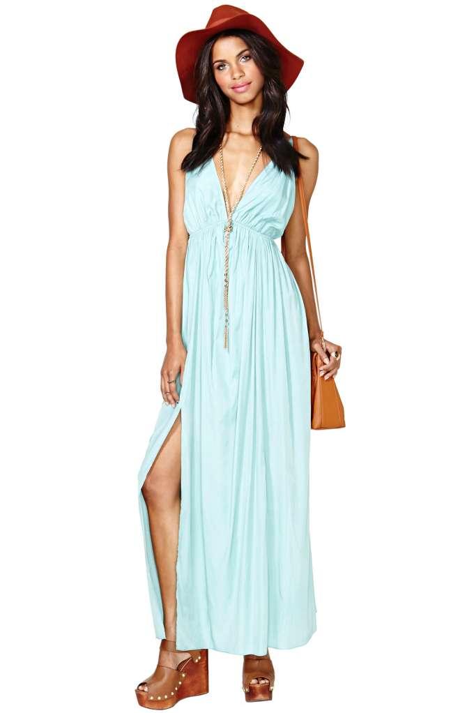 Amina Maxi Dress | Shop Clothes at Nasty Gal