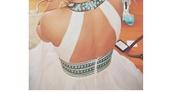 dress,maxis dress,prom dress,white dress