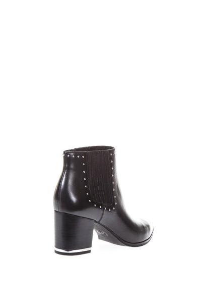 MICHAEL Michael Kors boot studs high black shoes