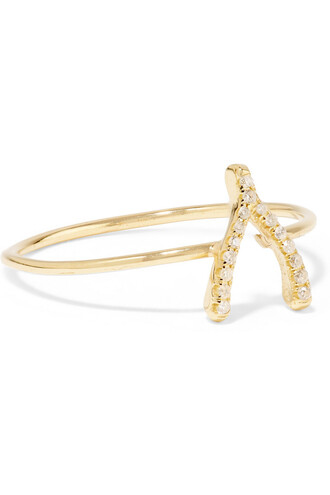 wishbone ring gold jewels