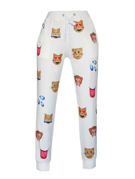 Pants: emoji print, emoji pants, emoji shirt - Wheretoget