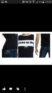 t-shirt,noir et blanc