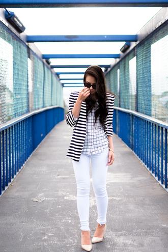jacket shoes sunglasses the fancy pants report jeans