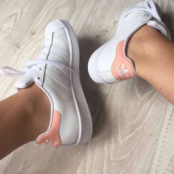 Adidas Women S Stan Smith Trainers White Pink