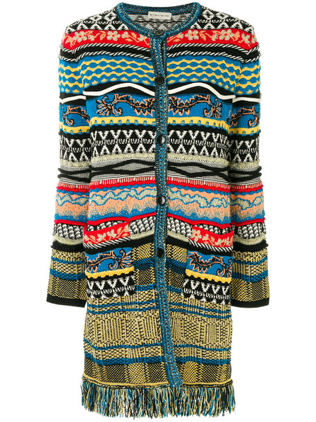 ETRO coat women cotton