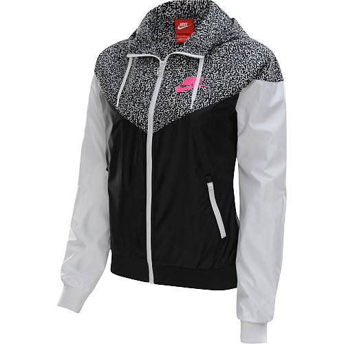 d9033199d502 NIKE Women s Printed Windrunner Full-Zip Running Jacket