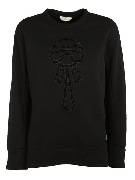 Fendi sweatshirt black sweater