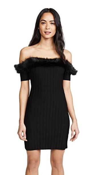 For Love & Lemons dress noir