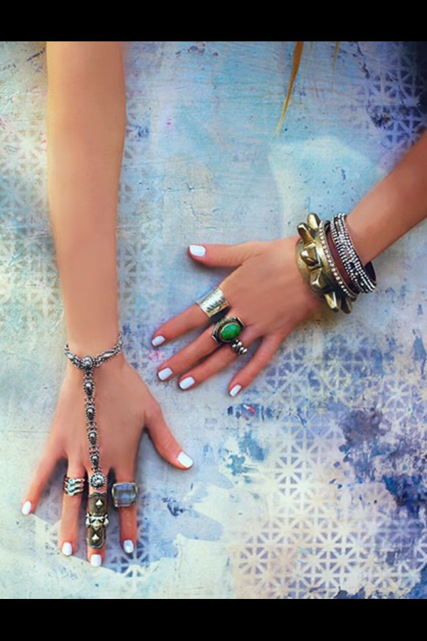 jewels ring rings and tings bracelets blue indie native american