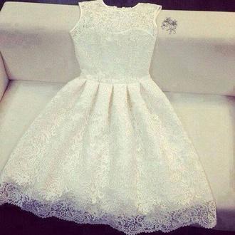 dress white beautiful