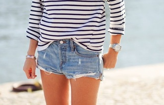 shorts shirt outfit summer sun girl fashion style