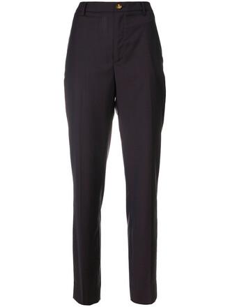 women cotton wool brown pants