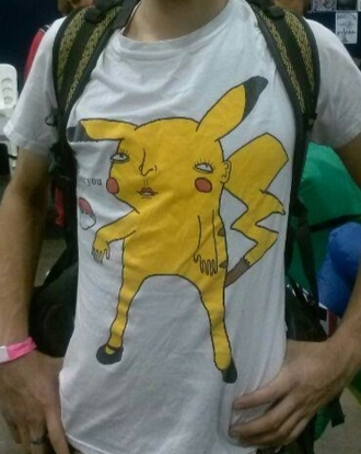t-shirt pikachu pokemon