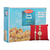 Bikaji Soan Papdi 500 gm set combo pack Red Stone rakhi set of 2
