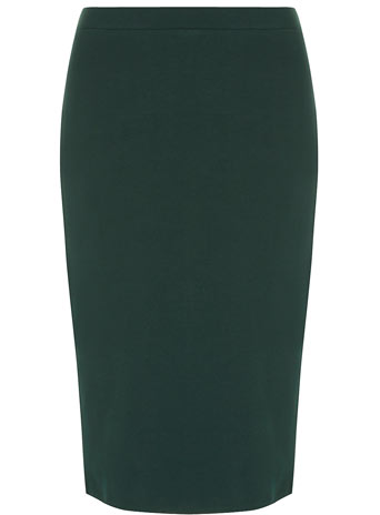 Green ponte pencil skirt - Dorothy Perkins