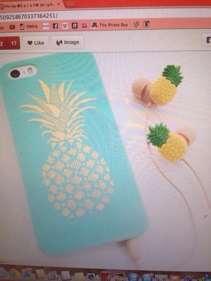 iphone case pineapple print