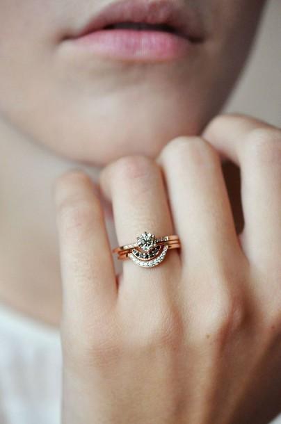 jewels wedding rings set