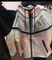jacket,windbreaker clear nike,nike,windbreaker,clear,colorful,multi color,transparent,nike jacket,coat,neon,clear jacket,multicolor,pink,blue,green,black,plastic,long sleeves,drawstring,fall sweater,nike windbreaker