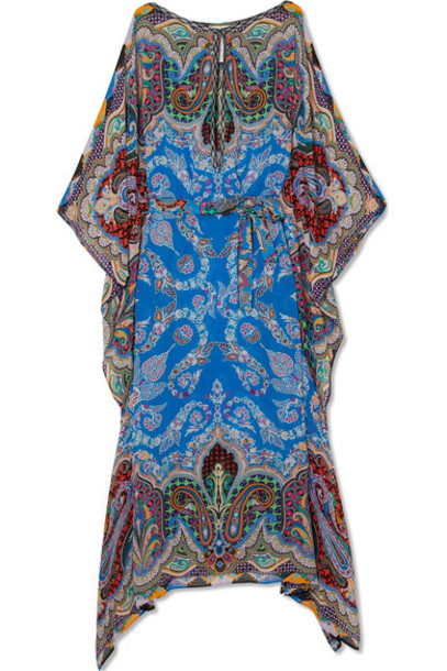 ETRO blue royal blue top
