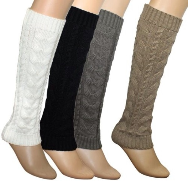 shoes leg warmers