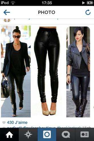pants slim pants kim kardashian rihanna style