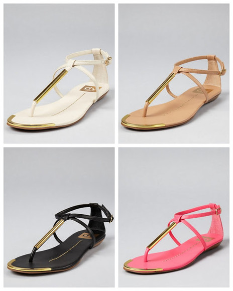 shoes sandals flat sandals black pink whtie nude gold open toed t-straps