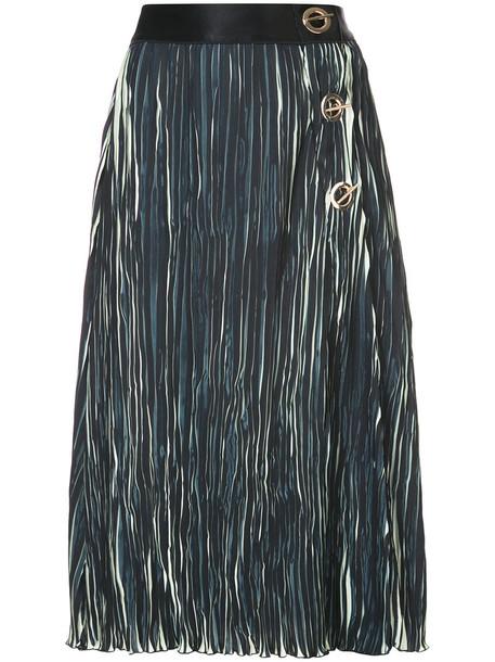 DEREK LAM 10 CROSBY skirt pleated skirt pleated women black