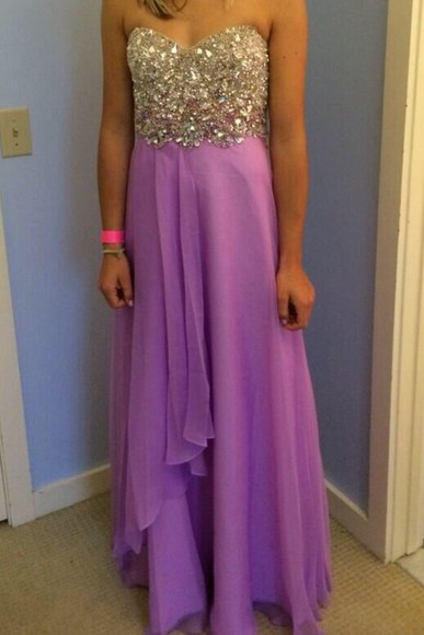 dress sparkle dress prom dress prom purple dress bustier dress