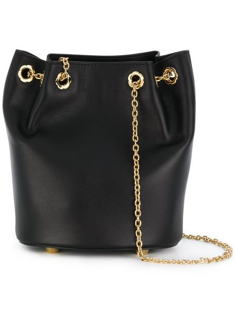 Salvatore Ferragamo women bag bucket bag leather black