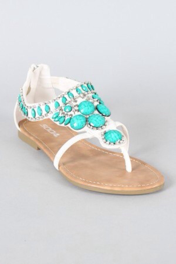 shoes turquoise sandals hipster girly