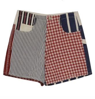 shorts pattern vintage high waist