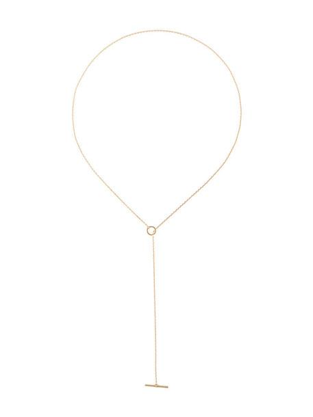 Maria Black women necklace diamond necklace gold grey metallic jewels